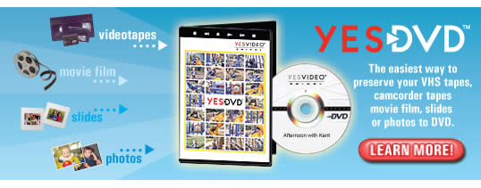 Yesvideo Video Tape And Movie Film Transfer To Dvd And Usb Service